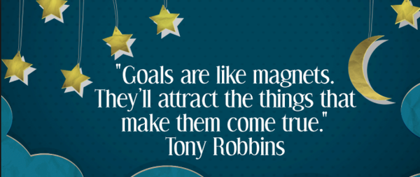 Goals are like magnets