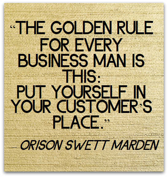 Golden role of business