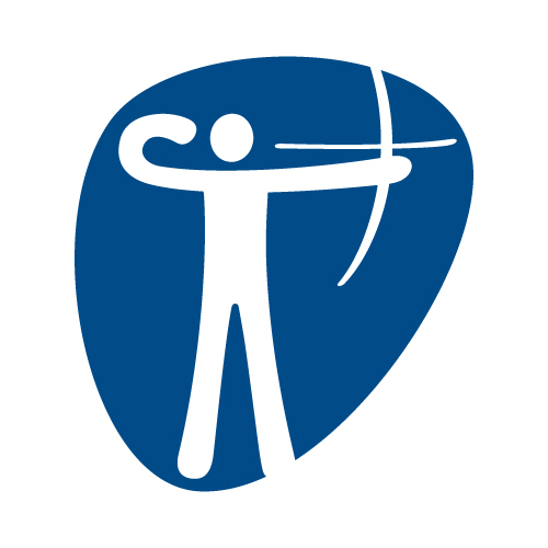 Archery pictogram