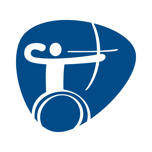 Paralympic archery pictogram